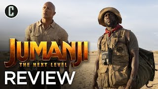 Jumanji: The Next Level - Movie Review