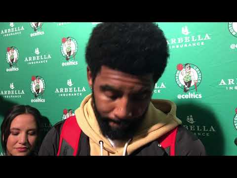 """Kyrie Irving considered signing in New York, but """"Boston, there's nothing like it'"""