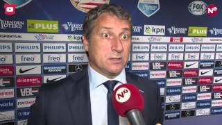 Reactie Ruud Brood na afloop van Jong PSV - N.E.C.