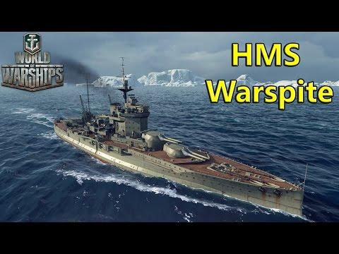 HMS Warspite Premium Royal Navy Battleship - World of Warships
