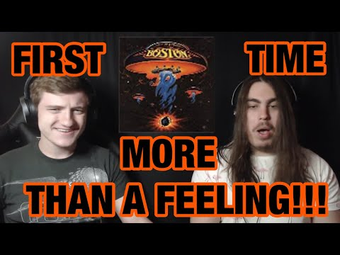 College Students' FIRST TIME Hearing - More Than a Feeling | Boston Reaction