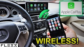 My Mercedes C250 Android Screen now has WIRELESS Apple Carplay!