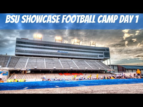 High School Football Highlights - Boise State - Showcase Camp Day 1 - 2018