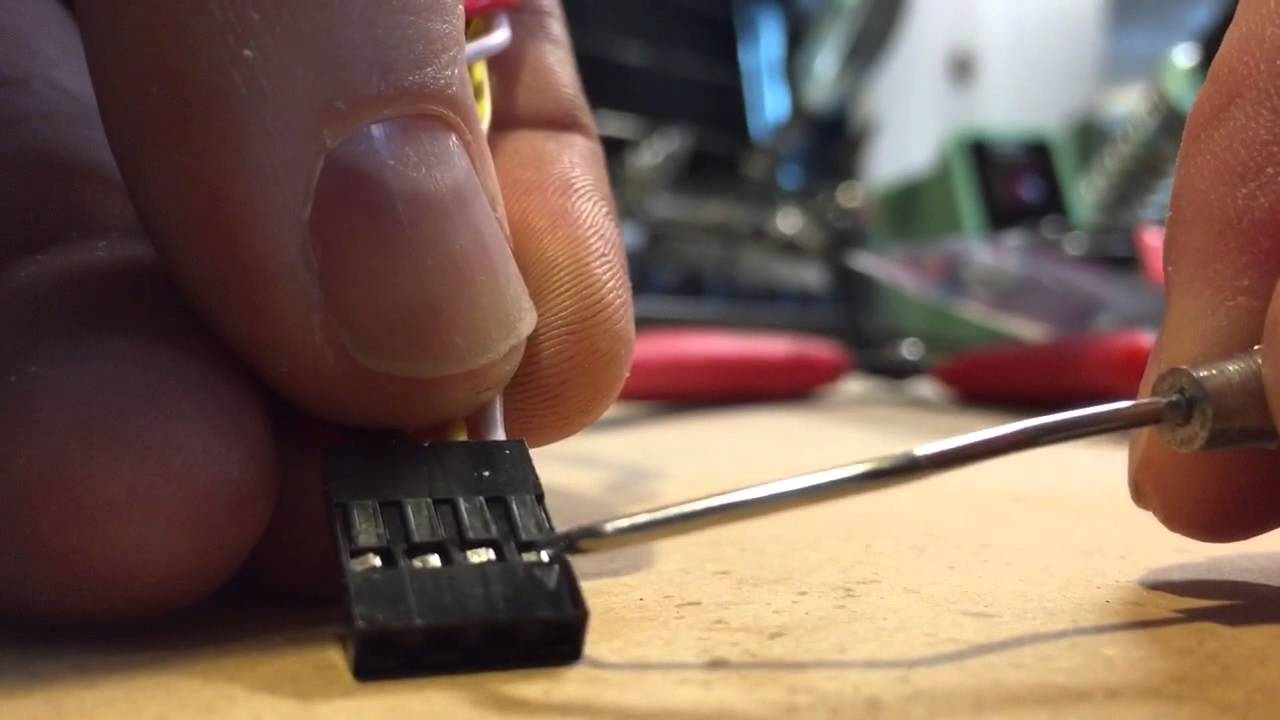 Dupont Pin Removal Insertion Youtube