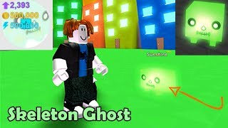 Noob With Skeleton Ghost!!! 500k Stats! New Best Pet! - Pet Simulator