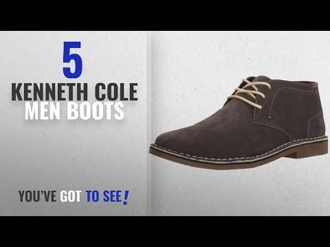 Top 10 Kenneth Cole Men Boots [ Winter 2018 ]: Kenneth Cole REACTION Men's Desert Sun SU Chukka