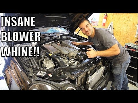 My E55 AMG Finally Broke So I Added More Boost, Blower Whine & Power! 'While I Was In There.'