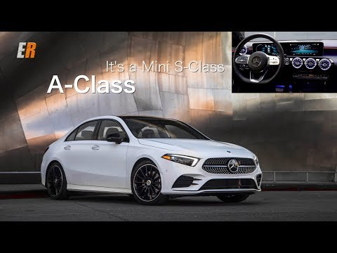 2019 Mercedes-Benz A-Class Review - WOW Its a MINI S-Class