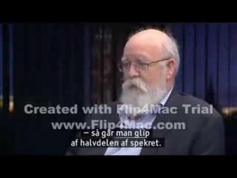 Daniel Dennett on Danish TV (Part 1/3)