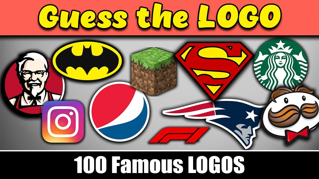 Download Guess the logo in 3 seconds..! | 100 famous logos | Logo quiz