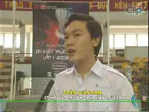 Giai cau long Kien truc mo rong lan 1 2008
