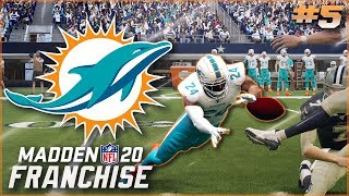 Madden 20 Miami Dolphins Franchise Ep. 5 | Insane Blocked Kick to Save the Game!