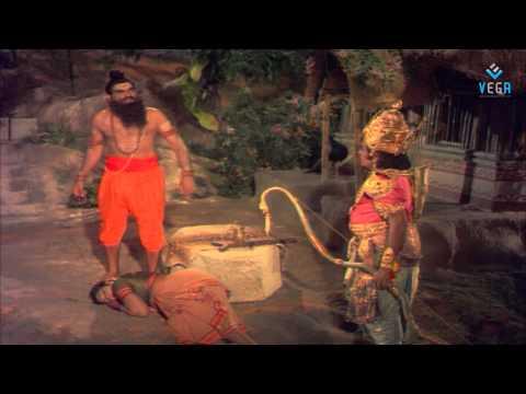 Shri Ramanjaneya Yuddham - Vishwamitra Gets Angry
