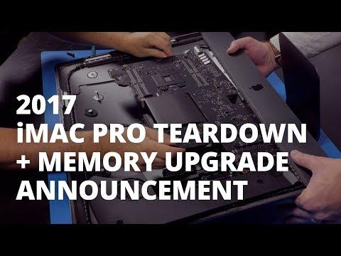 2017 iMac Pro Teardown + OWC Memory Upgrade Announcement