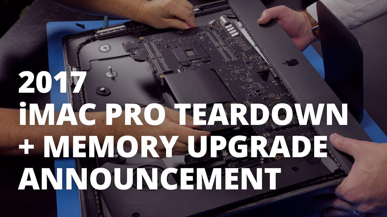 OWC Tears Down the 2017 iMac Pro, Announces Future Memory Upgrade