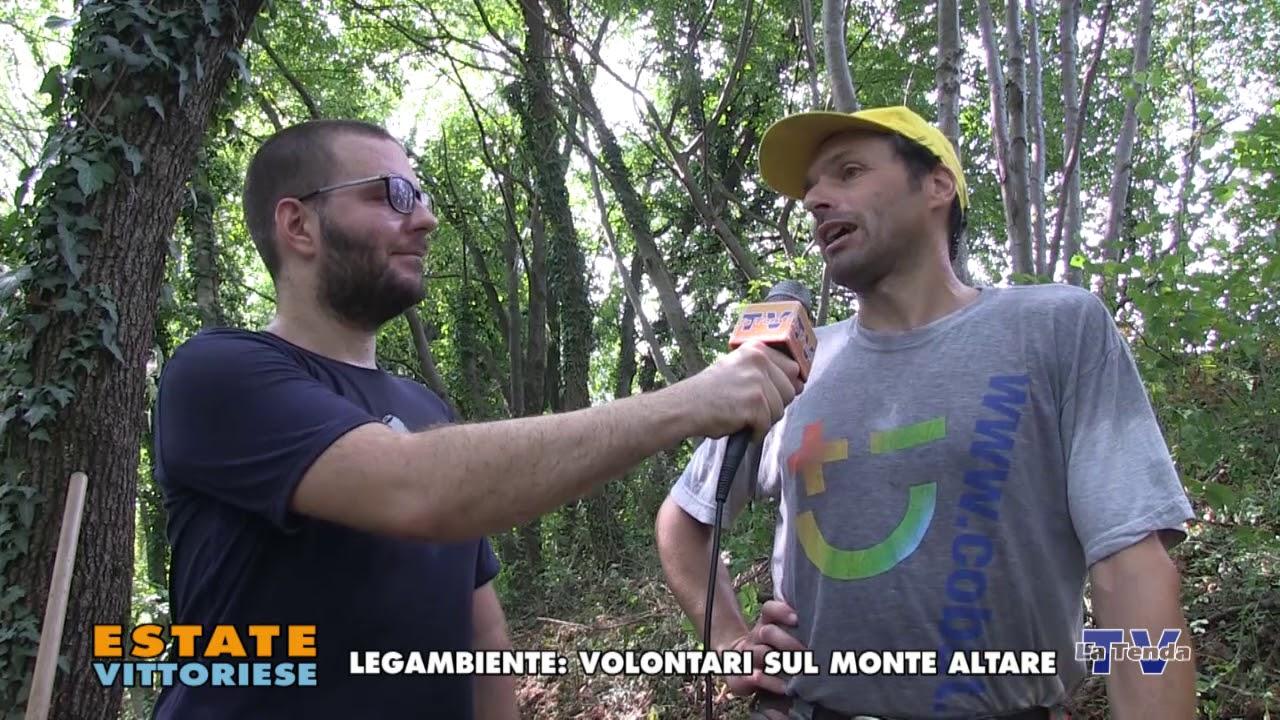 Estate vittoriese - Legambiente: volontari sul Monte Altare