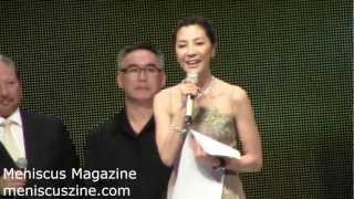 Michelle Yeoh (楊紫瓊) - Excellence in Asian Cinema - 7th Asian Film Awards - Meniscus Magazine