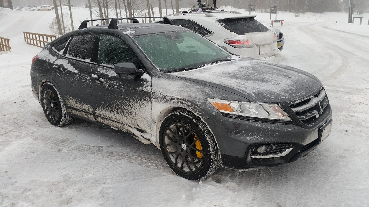 Honda Crosstour Belleayre Snow Drive 12 17 16 Youtube
