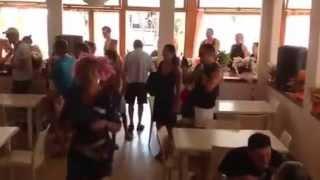 Flash Mob Al Self Service del Bagno Vittoria!!!!