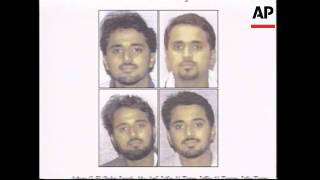 Four men wanted for questioning over terror