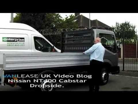 Vanlease UK|NT 400 Flatbed Video|Van leasing deals