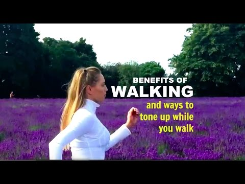 WALKING WORKOUT tone while you walk and get in shape.
