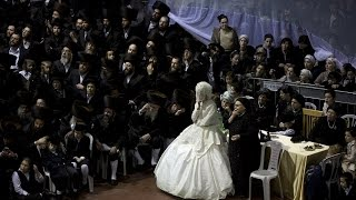 Ultra Orthodox Jewish Wedding In Israel Sees Thousands Of Guests Gather Together