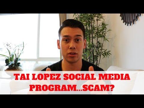 Tai Lopez Social Media Marketing Agency…SCAM?