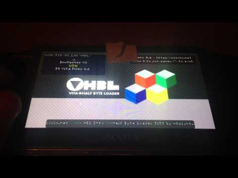 PS Vita Half Byte Loader for Firmware 2.02