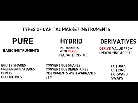 Capital Market Instruments- Quick Overview