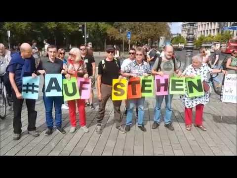 #Aufstehen für Frieden! Abrüsten statt Aufrüsten! #Antikrieg 1.9.2018 #Berlin