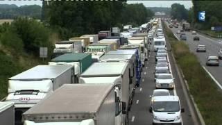 A1 fermée dans le sens Lille-Paris en raison d'un accident de poids lourd