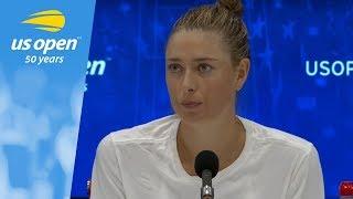 2018 US Open Press Conference: Maria Sharapova
