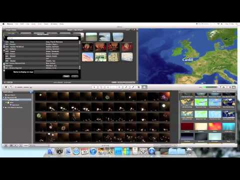 How To Add A Animated Map In iMovie 11 Imovie Map Animation on firefox animation, after effects animation, time machine animation, acrobat animation,