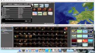 How To Add A Animated Map In iMovie 11