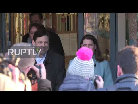 UK: Lib Dem Leader Jo Swinson Arrives To Cast Vote In East Dunbartonshire