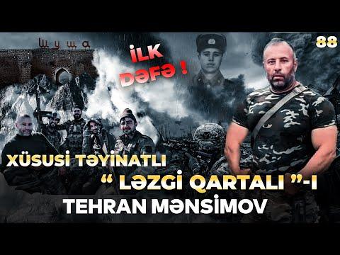 """Xüsusi təyinatlı """"Ləzgi qartalı"""" Tehran Mənsimov haqqında bilmədikləriniz ilk dəfə Motivat"""