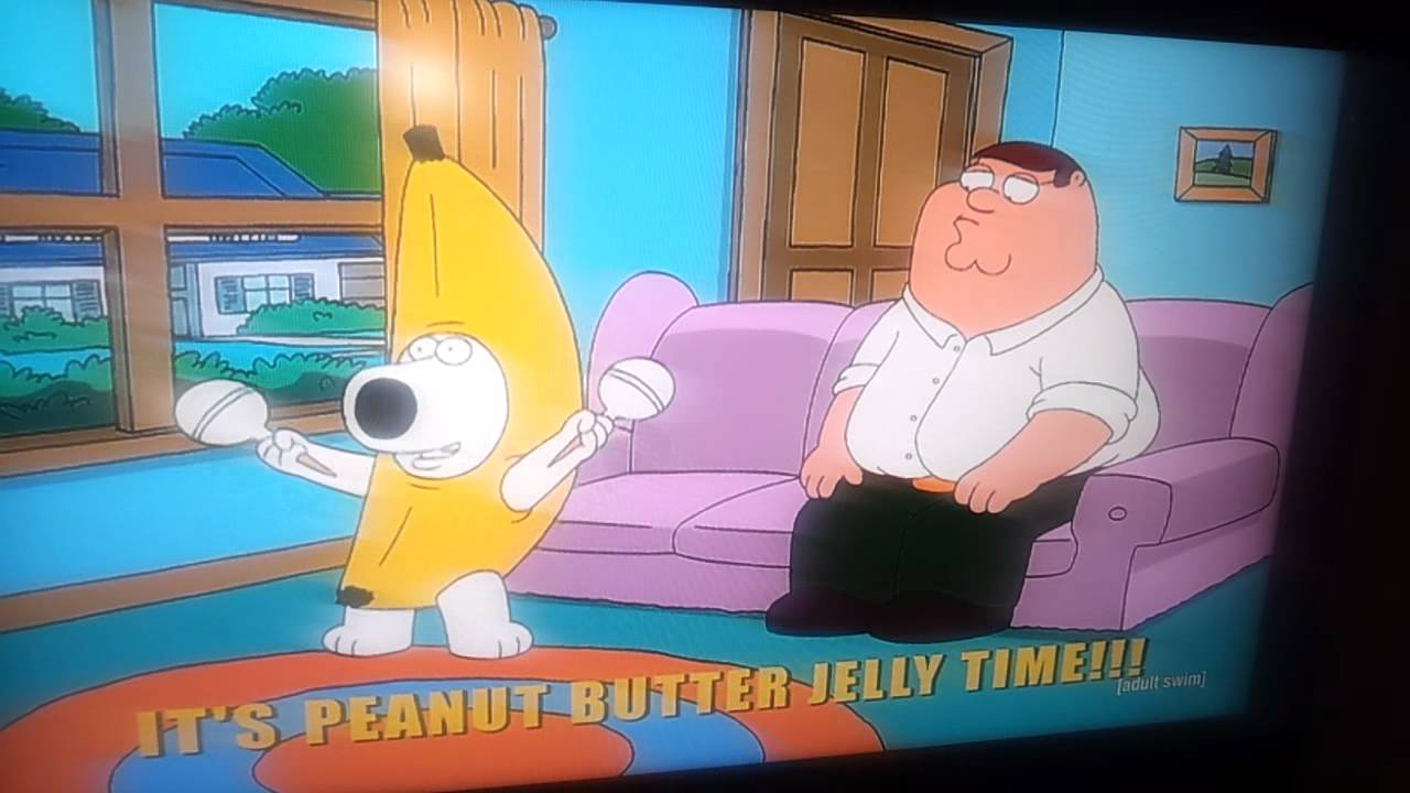 Peanut butter jelly song family guy