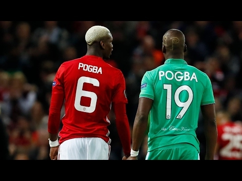 """Pogba faced his brother ''Emotional"""" (Europa League)"""