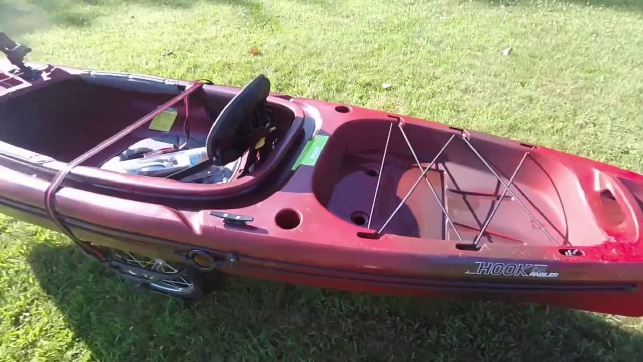 Perception Hook Angler 10 5 Kayak Review Youtube