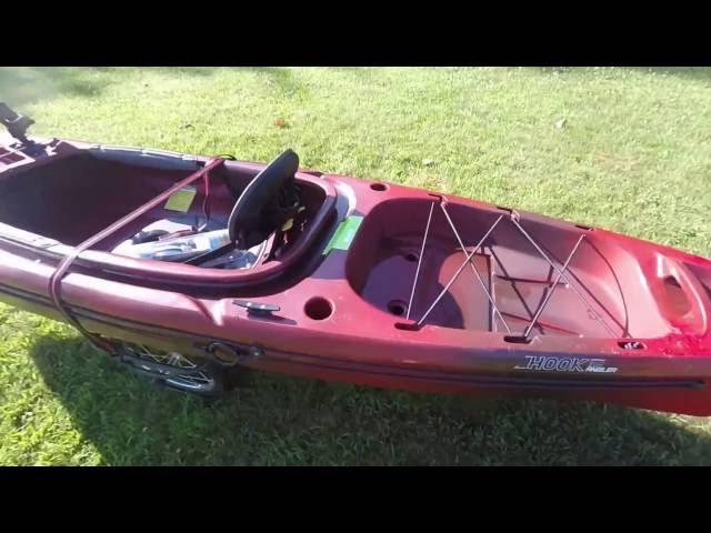 Perception Hook Angler 10.5 Kayak review