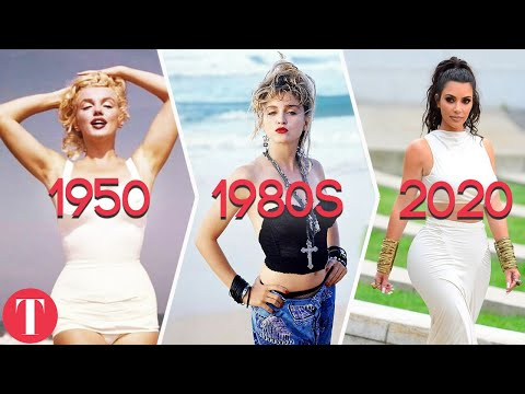 The Perfect Woman Body Type Throughout History