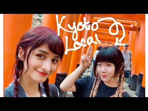 Kyoto With a Local || My Japanese Classmate Shows Me Around Her Home City ⛩