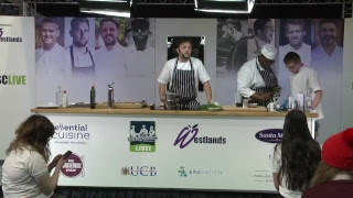 Ellis Barrie @The Staff Canteen Live at The Pro Kitchen Show 2019