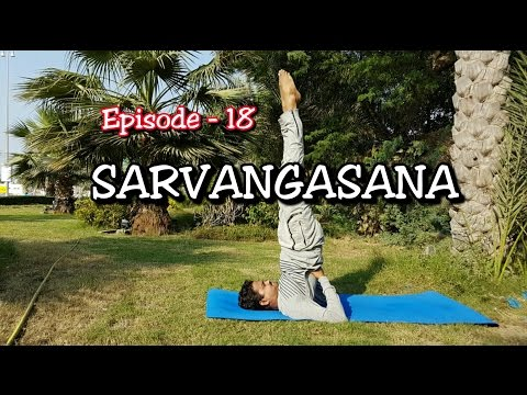 SARVANGASANA (Shoulder stand)| Yoga for Thyroid health | Dr.Amar | EPS -18