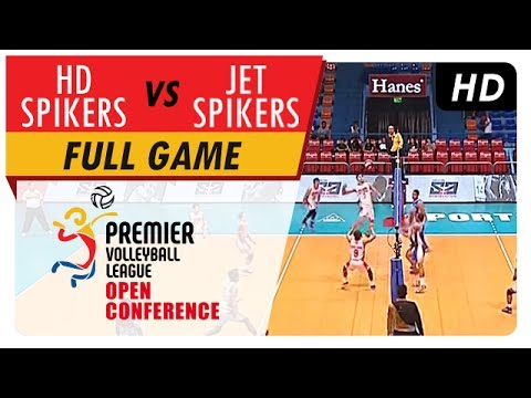 HD Spikers vs. Jet Spikers | MV Full Game | 1st Set | PVL Open Conference | July 22, 2017