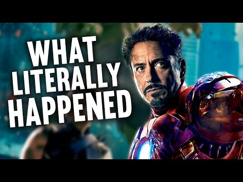 What Literally Happened in The Avengers