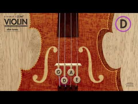 Violin Tuner (GDAE) in A 440Hz