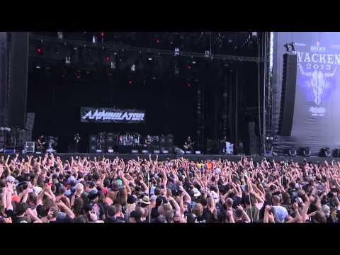 Annihilator  Set The World On Fire  Wacken Open Air 2013 BlurayHD