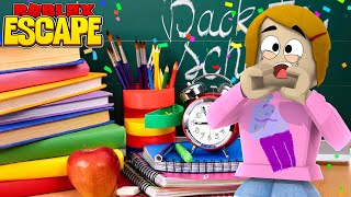 Roblox Escape Back To School Supplies Obby With Molly! - The Toy Heroes Games
